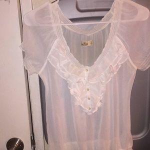 Off the shoulder hollister blouse
